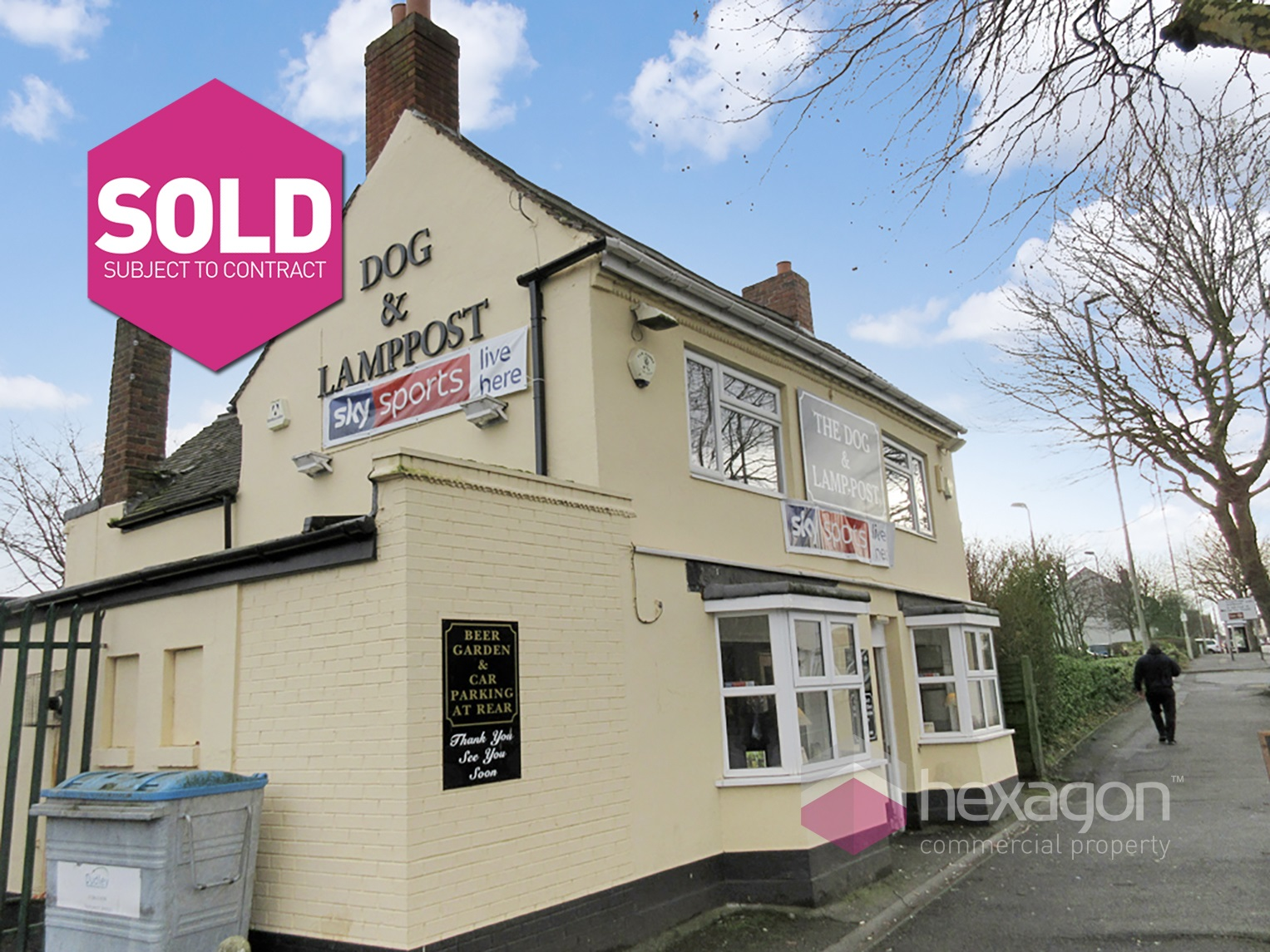 The Dog & Lamp Post Brierley Hill - Click for more details