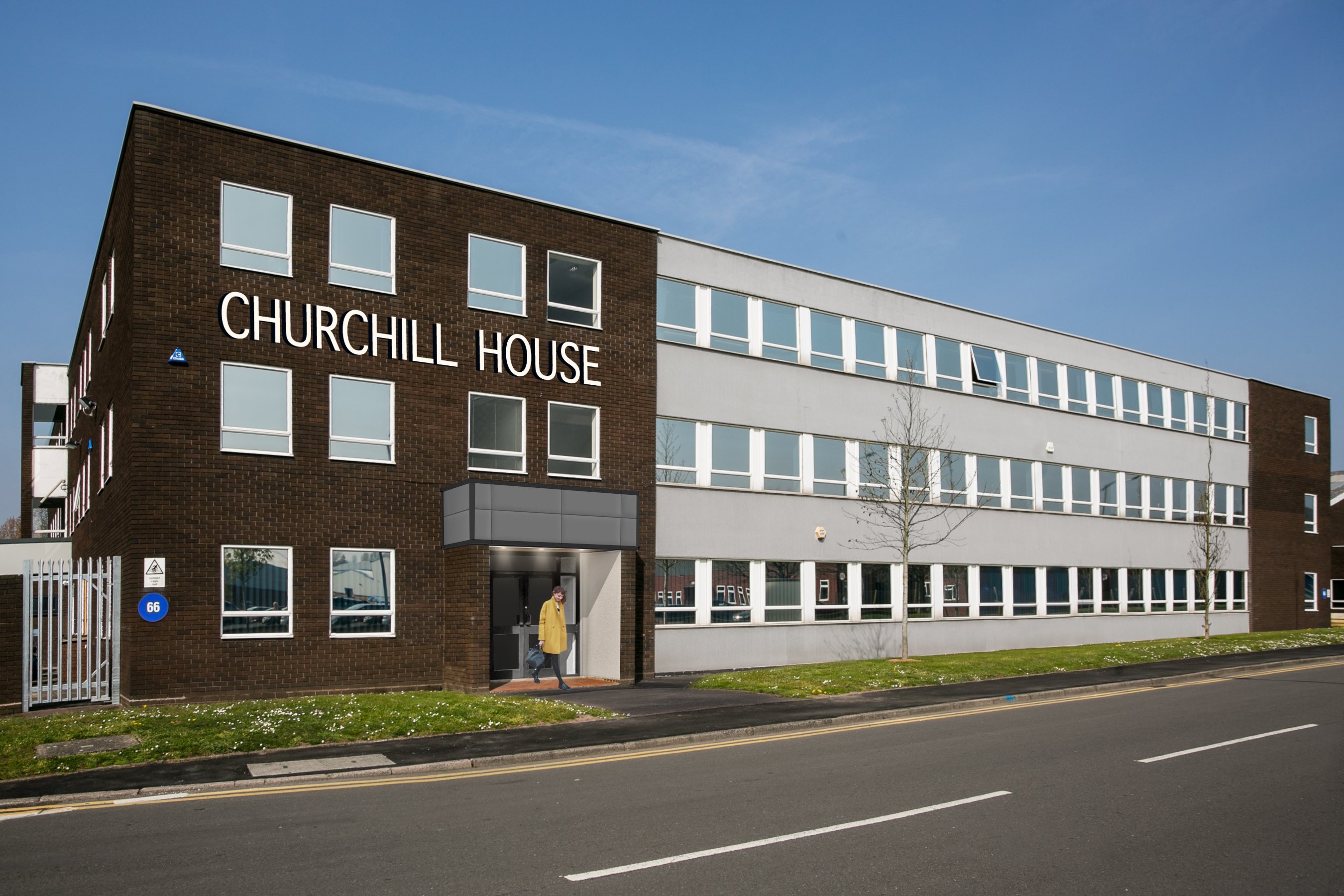 First Floor, Churchill House Kingswinford - Click for more details