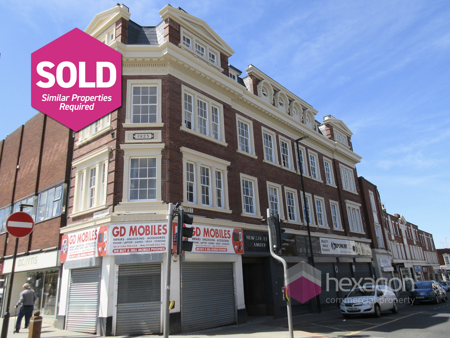 242 High Street & 1-5 New Street Dudley - Click for more details