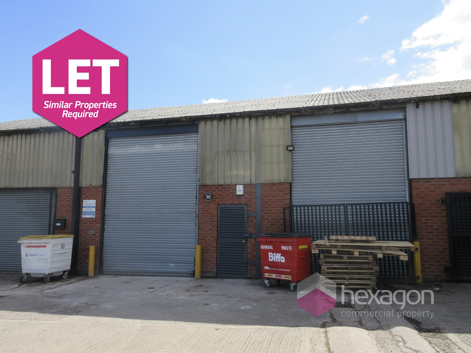 Unit 10 Walsall - Click for more details